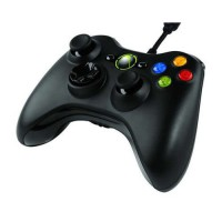 Mando Xbox 360 Compatible Con Cable -Negro