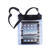 Waterproof case with headphone iPad 2/New iPad -Blue