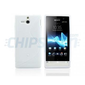 Caso S-Line Series Sony Xperia U -Branco