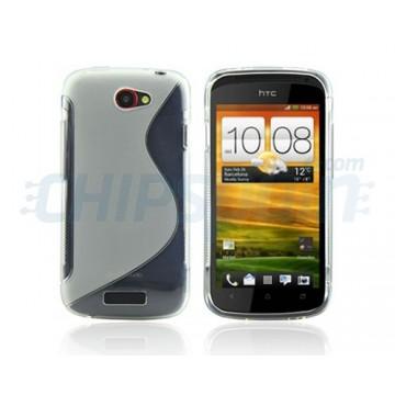 Funda S-Line Series HTC One S -Transparente
