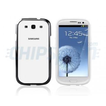 Bumper Original Series Samsung Galaxy S3 -Preto/Branco