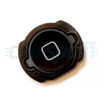 Botão Home iPod Touch Gen. 4 om gaxeta -Preto