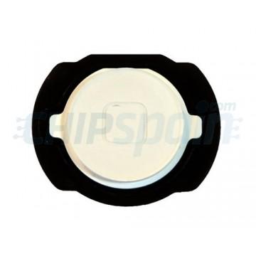 Botão Home iPod Touch Gen. 4 com gaxeta -Branco