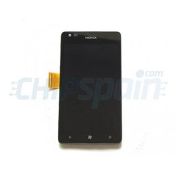 Tela cheia para Nokia Lumia 900 - Preto