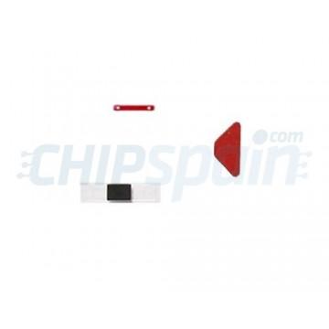 Pack Completo Adhesivo Indicador Daño por Agua iPhone 4S