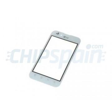 Cristal Digitalizador LG Optimus Black - Blanco