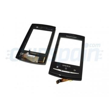 Vidro Digitador para Sony Ericsson Xperia X10 MiniPro -Preto