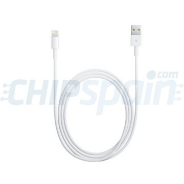 Cabo USB a Lightning 1m -Blanco