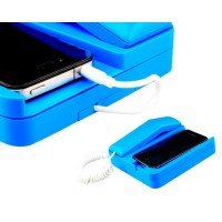 Teléfono Retro para iPhone 4 -Azul
