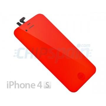 Pantalla Completa iPhone 4S - Rojo Espejo
