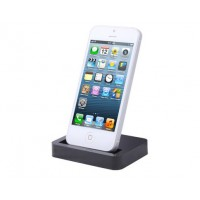 Base de Carga/Sincro iPhone 5 -Negro