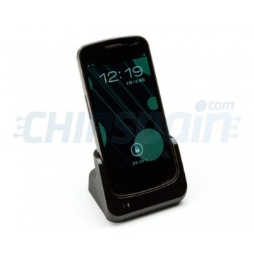 Base de carga/Synchro Mikosi Galaxy Nexus -Negra