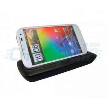 Base de carga/Synchro Mikosi HTC Sensation XL -Preto