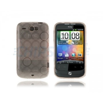 Case Bubble Series HTC Wildfire -White