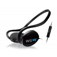 Stereo Headset + Microphone Oficial Nintendo Wii U Licence