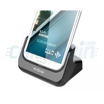 Base de Carga/Sincro Kidigi Samsung Galaxy Note 2 -Negro