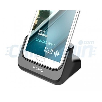 Load Base/Synchro Kidigi Samsung Galaxy Note 2 -Black