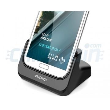 Base de carregamento HDMI KiDiGi Samsung Galaxy Note 2