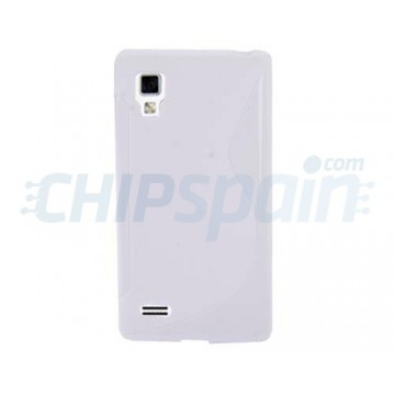 Funda S-Line Series LG Optimus L9 -Blanco