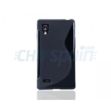 Funda S-Line Series LG Optimus L9 -Negro
