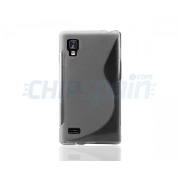 Caso S-Line Series LG Optimus L9 -cinzento