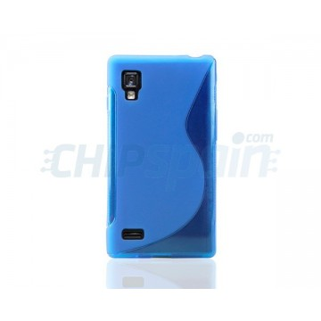 Caso S-Line Series LG Optimus L9 -Azul