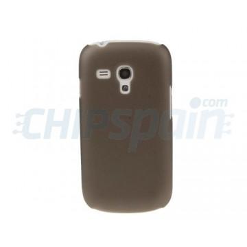 Carcasa Samsung Galaxy SIII Mini -Gris Transparente