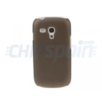 Case Samsung Galaxy SIII Mini -Dark Grey Translucide