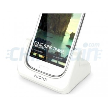 Charging Base KiDiGi Samsung Galaxy SIII -White