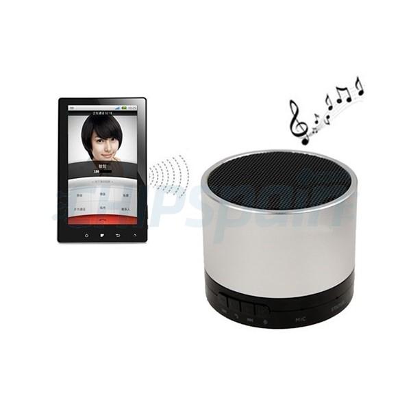 Altavoces Multimedia Bluetooth Manos Libres Gris