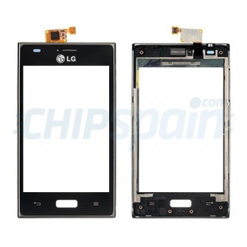 Touch screen with frame LG Optimus L5 -Black