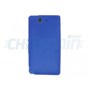 Funda de Silicona Sony Xperia Z Azul