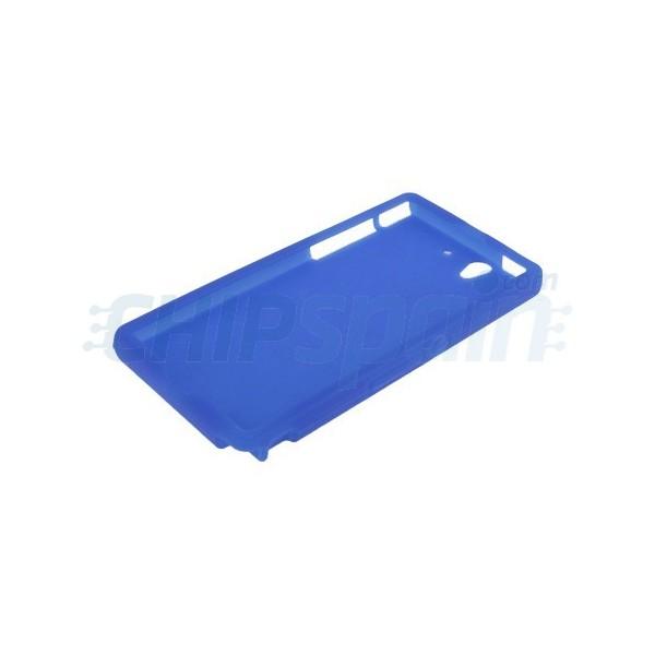 Funda de silicona sony xperia z azul - Funda xperia z tablet ...