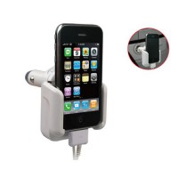 Soporte de Coche para iPhone/iPod -Blanco