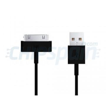 Cable USB to 30 PIN iPhone/iPad/iPod 1m -Black