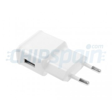 Power Adapter to USB 2A -White