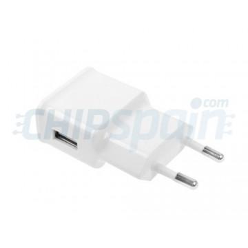 Adaptador de Corriente a USB 2A Blanco