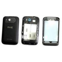 Carcasa Completa para HTC Wildfire S - NEGRO