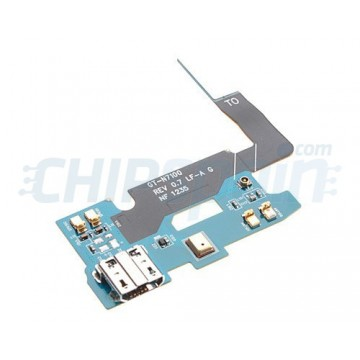 Flex Cable and Charging Connector Samsung Galaxy Note 2