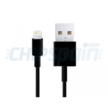 Cable USB a Lightning 2m -Negro