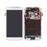 Pantalla Completa con Marco Samsung Galaxy S4 i9505 -Blanco