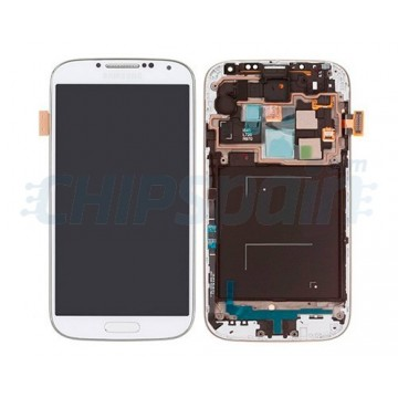 Full Screen with frame Samsung Galaxy S4 i9505 -White