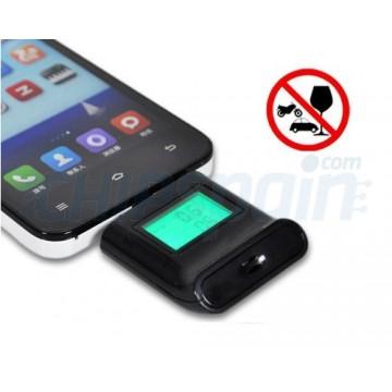 Alcoholímetro para Smartphone Negro