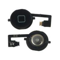 Botón Home + Cable Flexible iPhone 4S -Negro
