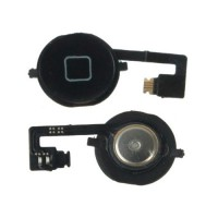 Botón Home + Cable Flexible iPhone 4S -Preto