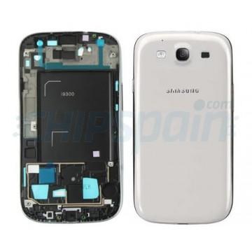 Full Back Case Samsung Galaxy SIII -White