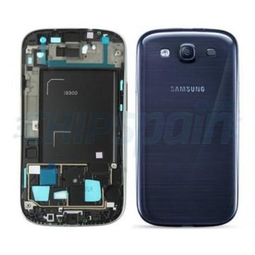 Carcaça Traseira Completa Samsung Galaxy SIII -Azul