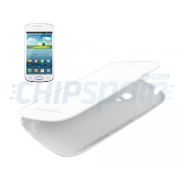 Tampa da bateria Flip Samsung Galaxy SIII Mini -Branco
