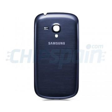 Tapa Trasera Batería Samsung Galaxy SIII Mini Azul