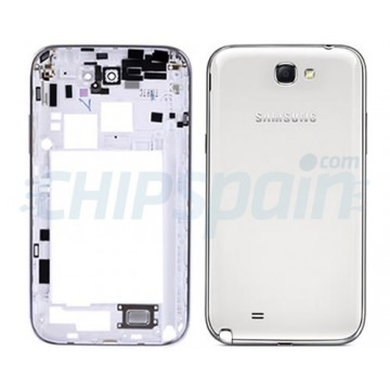 Carcaça Traseira Samsung Galaxy Note 2 -Branco